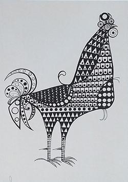 GRA 078 (50x36) Serigrafia