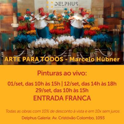 1º Edição - Evento Arte para todos com Marcelo Hübner